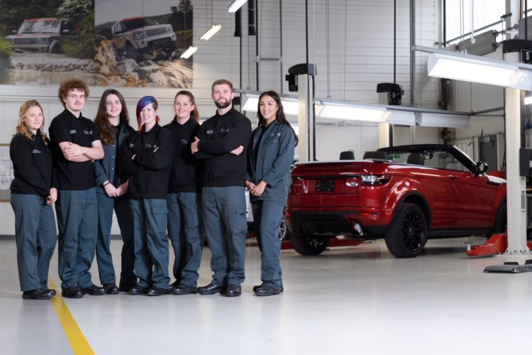 girls outnumber boys for first time ever on jaguar land rover's