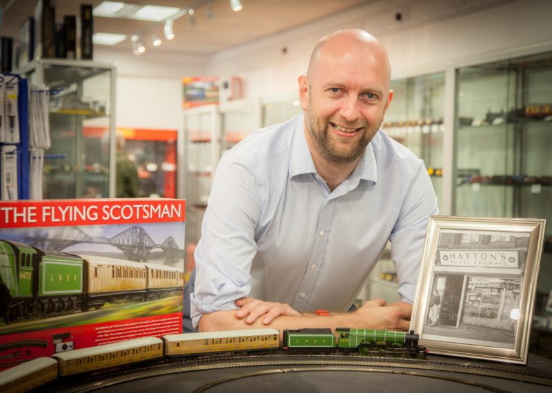 Hattons Model Railways sees sales spike following Brexit