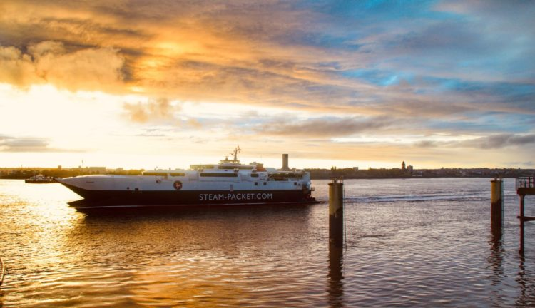 Ships on the Mersey and high and low tides on Monday, October 15