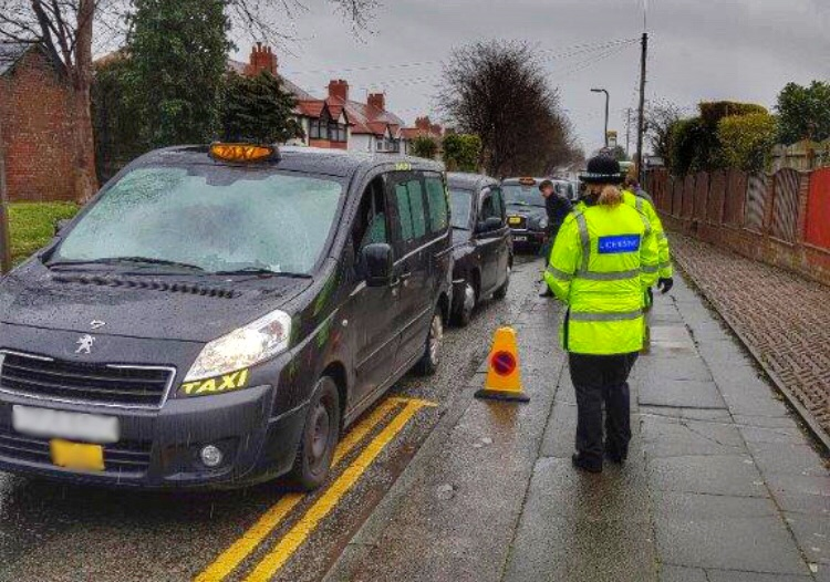 Council cab and private hire crackdown forces 48 vehicles