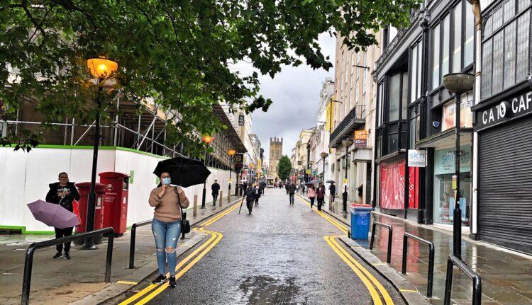 Bold Street, Liverpool city centre